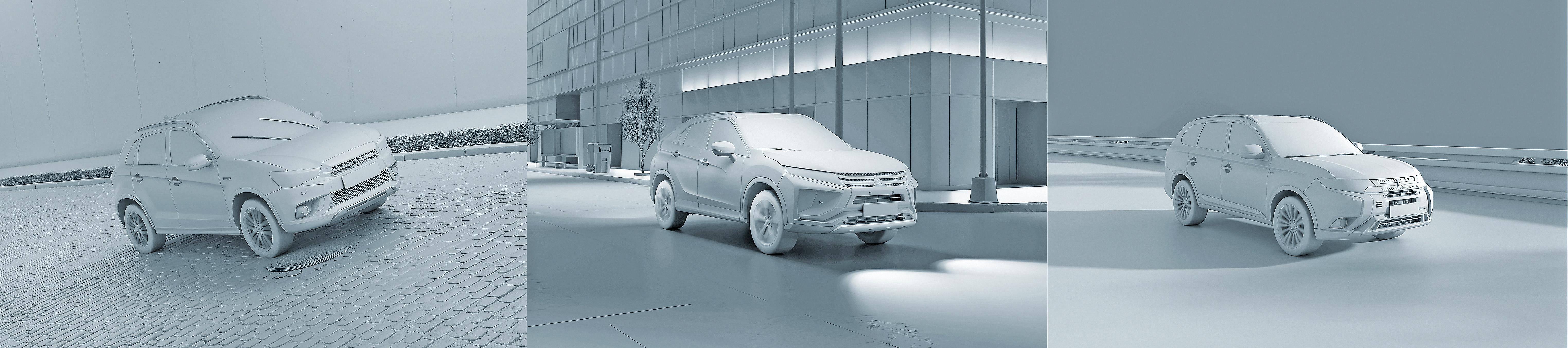 Mitsubishi_2019_line_SUV_clay